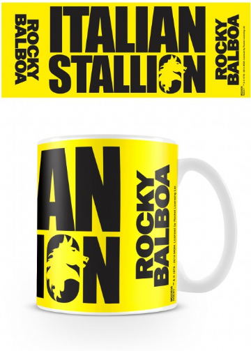 rocky italian stallion mug - officially licensed